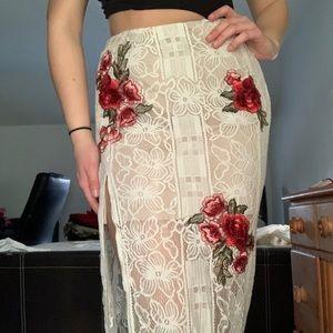 lulu's maxi skirt